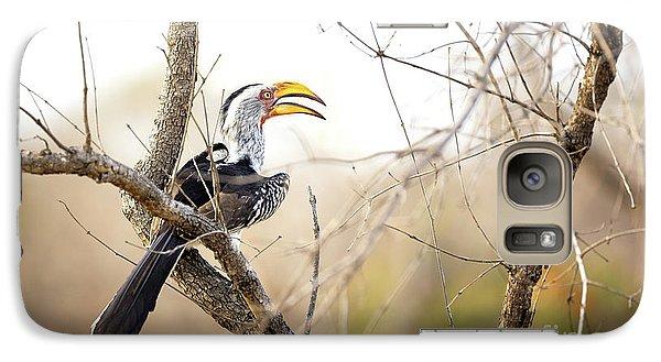 Yellow-billed Hornbill Sitting In A Tree.  Galaxy S7 Case