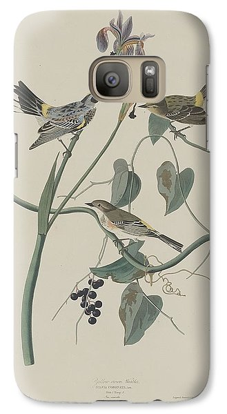 Yellow-crown Warbler Galaxy S7 Case