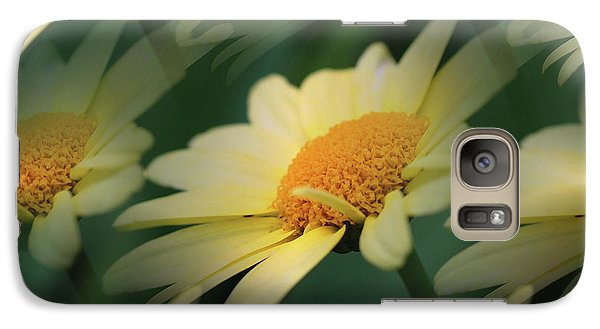 Galaxy Case featuring the photograph Yellow Daisies by Smilin Eyes  Treasures