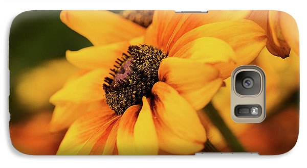 Galaxy Case featuring the photograph Yellow Dark by Mary Jo Allen