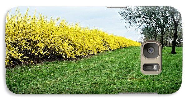 Yellow Flowers Galaxy S7 Case