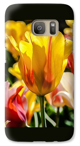 Galaxy Case featuring the photograph Yellow For You by Jim Moore