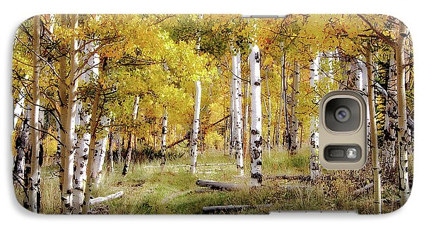 Galaxy Case featuring the photograph Yellow Heaven by Jim Hill
