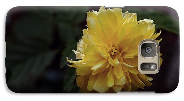 Galaxy Case featuring the photograph Yellow by Keith Elliott