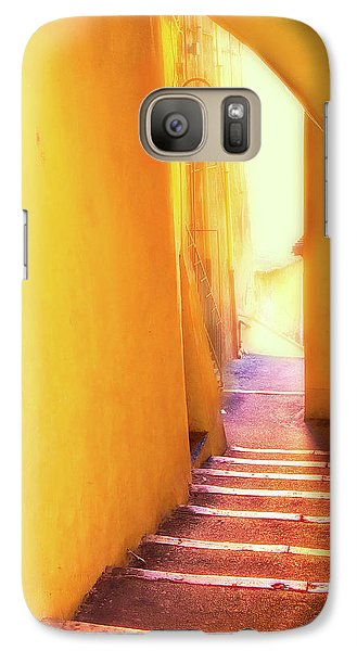 Galaxy Case featuring the photograph Yellow Passage  by Harry Spitz