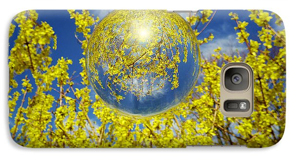 Galaxy Case featuring the photograph Yellow by Robert Geary