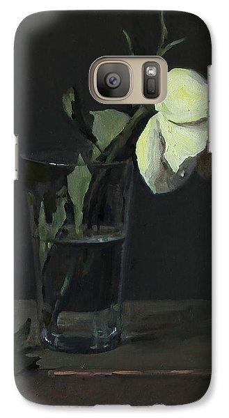 Yellow Rose No. 3 Galaxy S7 Case
