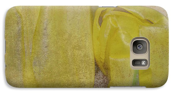 Galaxy Case featuring the photograph Yellow Strands by Traci Cottingham
