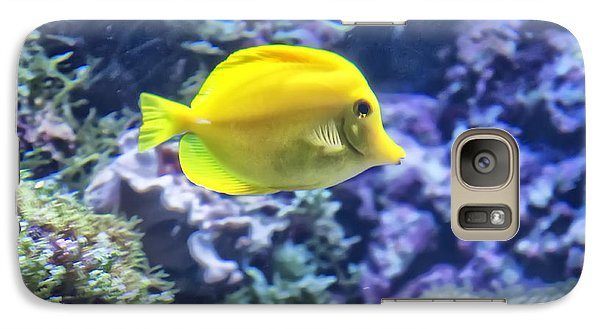 Yellow Tang Galaxy S7 Case