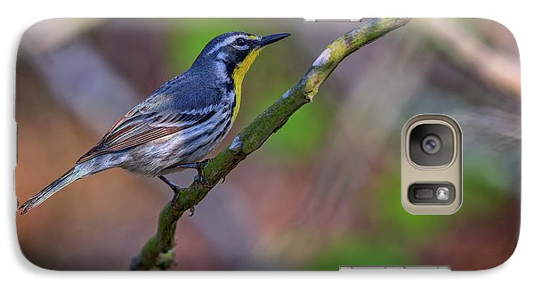 Warbler Galaxy S7 Case - Yellow-throated Warbler by Rick Berk