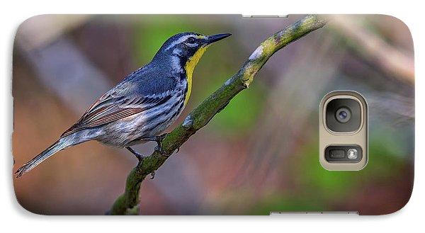 Yellow-throated Warbler Galaxy S7 Case by Rick Berk