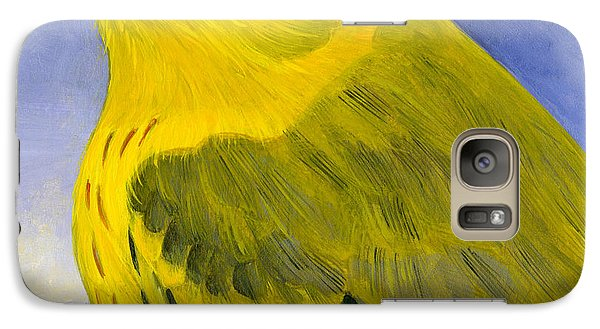Warbler Galaxy S7 Case - Yellow Warbler by Francois Girard