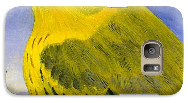 Yellow Warbler Galaxy S7 Case by Francois Girard