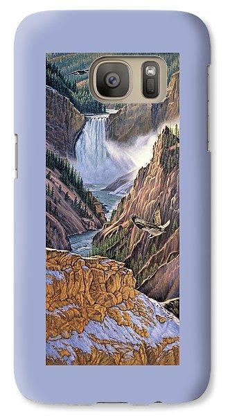 Yellowstone Canyon-osprey Galaxy S7 Case
