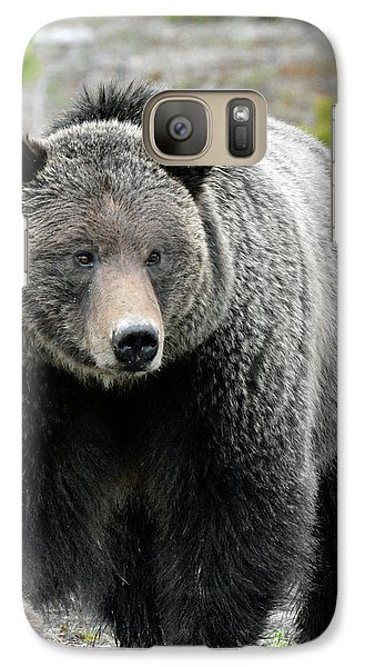 Galaxy Case featuring the photograph Yellowstone Grizzly With Claws by Bruce Gourley