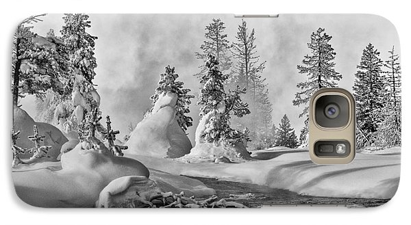 Yellowstone In Winter Galaxy S7 Case by Gary Lengyel