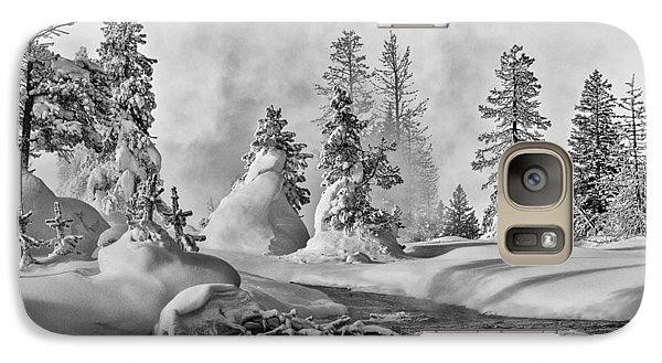 Yellowstone In Winter Galaxy S7 Case