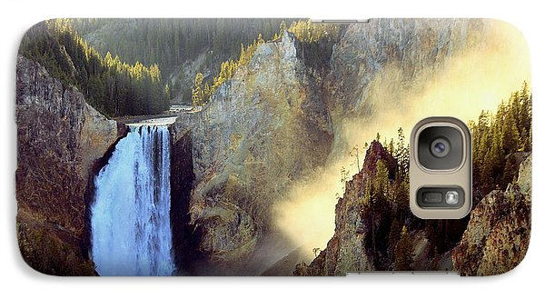 Galaxy Case featuring the photograph Yellowstone by Irina Hays