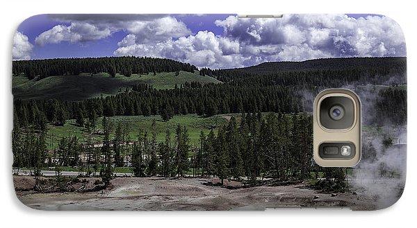 Galaxy Case featuring the photograph Yellowstone Tar Pits by Jason Moynihan