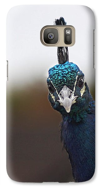Galaxy Case featuring the photograph Yes? by RKAB Works