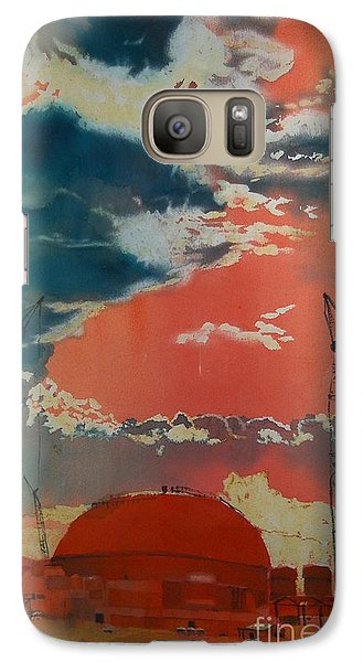 Galaxy Case featuring the painting Yin And Yang by Elizabeth Carr