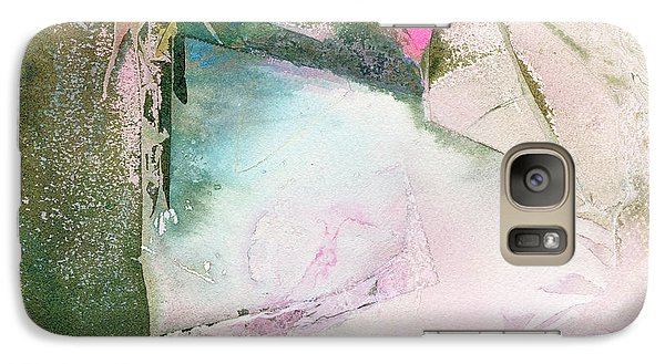 Galaxy Case featuring the painting Yin-yang by Mary Sullivan