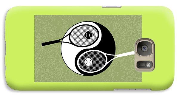 Yin Yang Tennis Galaxy S7 Case by Carlos Vieira