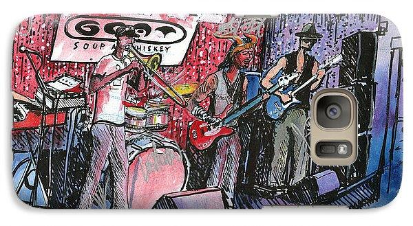 Galaxy Case featuring the painting Yo Mammas Big Fat Booty Band by David Sockrider