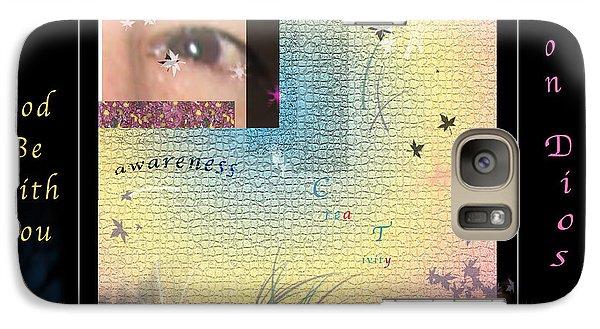 Galaxy Case featuring the photograph Yoga Creativity And Awareness by Felipe Adan Lerma