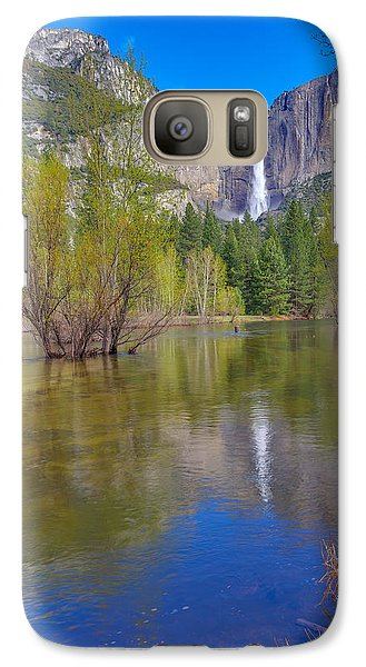 Galaxy Case featuring the photograph Yosemite Falls Cook's Meadow by Scott McGuire