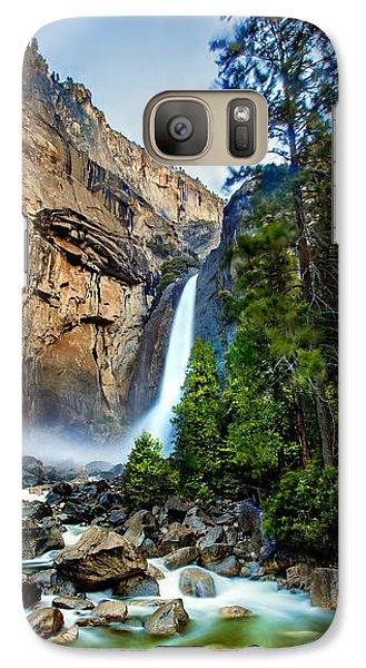 Yosemite National Park Galaxy S7 Case - Yosemite Waterfall by Az Jackson
