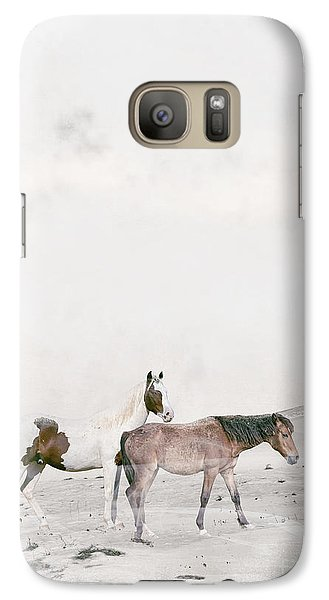 Galaxy Case featuring the painting You Are Not Alone by Bri B