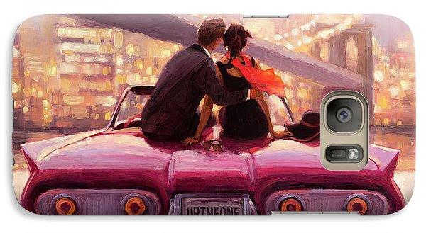 Empire State Building Galaxy S7 Case - You Are The One by Steve Henderson