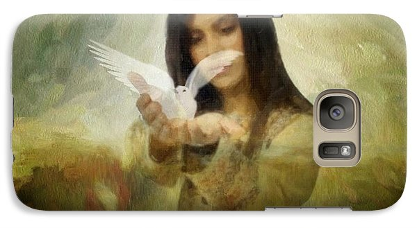 You Bird Of Freedom And Peace Galaxy S7 Case