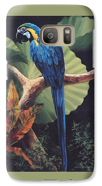 You Don't Say Galaxy Case by Laurie Hein