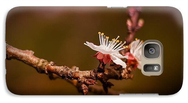 Galaxy Case featuring the photograph You Make Me Blossom by Tim Nichols