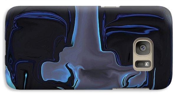 Galaxy Case featuring the digital art You N Me by Rabi Khan