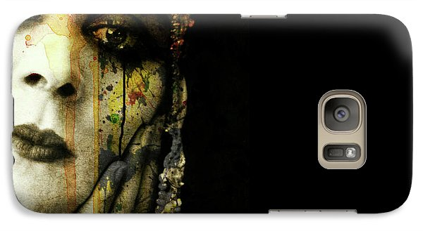 Galaxy Case featuring the mixed media You Never Got To Hear Those Violins by Paul Lovering