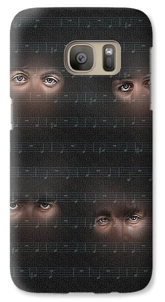 Galaxy Case featuring the photograph You Won T See Me by Pedro L Gili