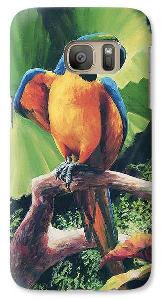 You Got To Be Kidding Galaxy Case by Laurie Hein