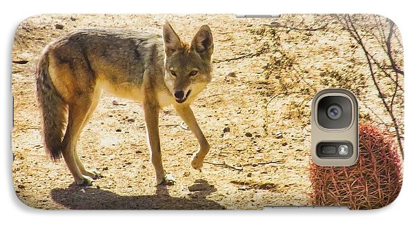 Young Coyote And Cactus Galaxy S7 Case