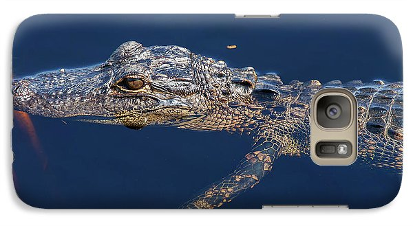 Galaxy Case featuring the photograph Young Gator 1 by Arthur Dodd