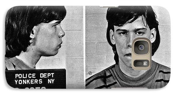 Young Steven Tyler Mug Shot 1963 Pencil Photograph Black And White Galaxy S7 Case