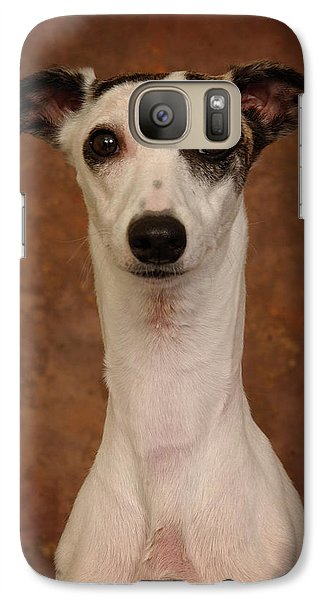 Galaxy Case featuring the photograph Young Whippet by Greg Mimbs