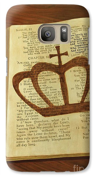 Galaxy Case featuring the painting Your God Reigns by Jennifer Watson