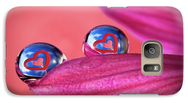 Galaxy Case featuring the photograph Your Heart My Heart by William Lee