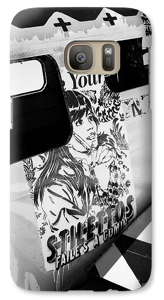 Galaxy Case featuring the photograph Your Stilletos by Chris Dutton