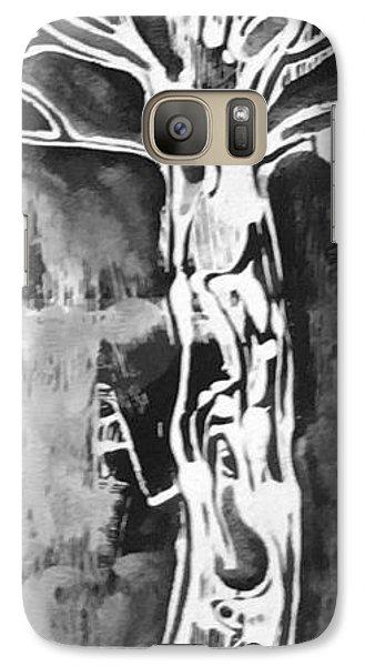 Galaxy Case featuring the painting Youth by Carol Rashawnna Williams