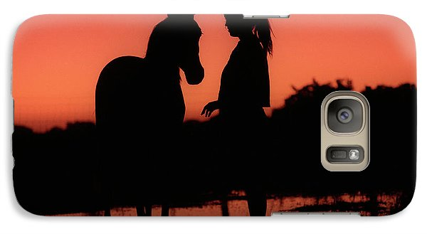 Galaxy Case featuring the photograph Youth by Jim and Emily Bush