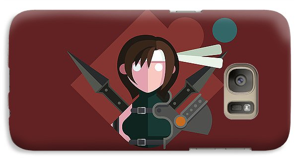 Galaxy Case featuring the digital art Yuffie by Michael Myers